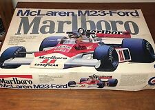 Mclaren M23 Ford Marlboro 1:8 Big Scale Model Kit Race Car by Entex