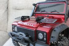 Black Light Guards / Grille for Traxxas TRX-4 Landrover D110 Scale Crawler