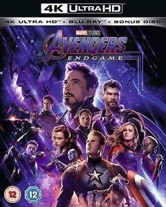 Marvel Studios Avengers : Endgame (4k Ultra HD + Blu-ray) Robert Downey Jr