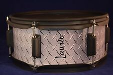 "Laurin Snare (12"" mesh pad) for Roland/Alesis electronic drum - Steel look"