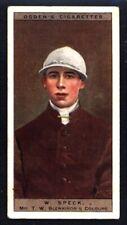 Ogden's Jockeys & Owners' Colours 1927 - W. Speck / Mr. T. W. Blenkiron No. 42