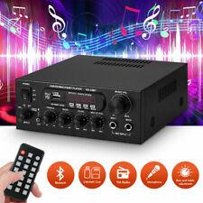 Bluetooth Digital Amplifier Stereo MIC Home / Car Audio Amp SD USB Media Player