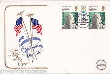 1976 USA - Cotswold - TRAFFIC LIGHT GUTTER PAIR - Kingston On Thames FDI