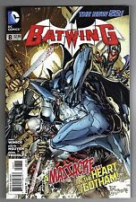 BATWING #8 - KEN LASHLEY COVER - THE NEW 52! - 2012