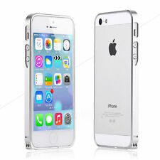 ULTRA THIN SLIM PROTECTIVE ALUMINUM METAL BUMPER CASE COVER FOR IPHONE 5S 5 & SE