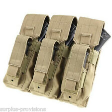 Condor MA72 Triple AK Kangaroo 7.62 Rifle & Pistol Mag Pouch - Tan