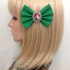 Drop Dead Fred Rik Mayall hair bow clip rockabilly pin up girl vintage retro