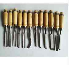 Carpetry Carpenter Wood Work Chisel Set Carving Tools Gear Full Quality Knife