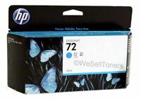 HP 72 Cyan Ink Cartridge C9371A Genuine New