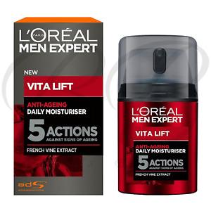 L'OREAL Paris Men Expert Vita Lift Anti-Ageing 5 Action Daily Moisturiser *NEW*