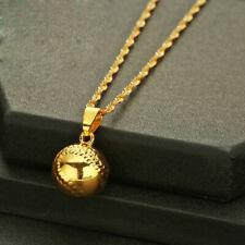 Gold Baseball Bat Necklace Harley Quinn Pendant Souvenir Suicide Squad Necklace