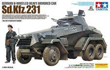 1/35 Tamiya 37024 - German 6-Wheeled Sd.Kfz.231 - Armor car Plastic Model Kit