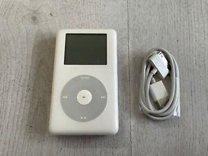 Apple iPod Classic (4th Gen A1099) White (30GB)