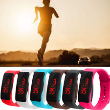 Sport LED Digital Display Bracelet Watch Children Silica Gel Wrist Watch