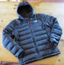 Mens The North Face Acolchado Abrigo Chaqueta de Plumón. tamaño Mediano. 550 Negro Plumas De Ganso.