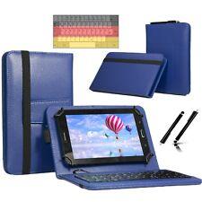 "Tastatur Case Hülle für Samsung Galaxy Tab 2 P5110 Tablet Keyboard 10.1"" Blau"