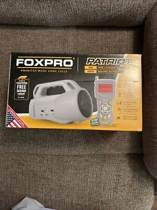 Brand New Tested Foxpro Patriot Predator Coyote Game Call W/ Remote