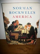Norman Rockwell America Hardcover large Book