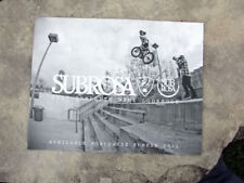 Collectable 2011 Subrosa bicycle, product catalog, new product line