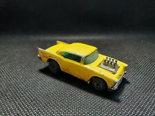 Hot Wheels '57 Chevy Vintage Yellow Malaysia 1976 1/64 Scale