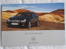 Mercedes C Class Sports Coupe brochure Dec 2006