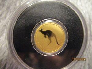Australien Goldmünze 2 $ Känguru Mini Roo 2010 0,5 g 9999 Gold