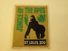 ST Louis Zoo Jungle of the Apes - Gorilla Ape Image- Iron On Sewing Patch