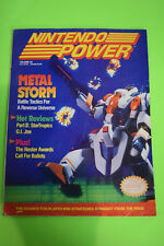 Nintendo Power Magazine Vol #22 Metal Storm SNES NES Battletoads Poster