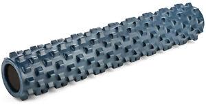 RumbleRoller Original Density BLUE Deep Tissue Foam Massage