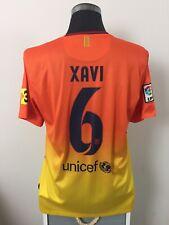 XAVI #6 Barcelona Away Football Shirt Jersey 2012/13 (L)