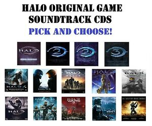 HALO Original Game Soundtrack CDs - Pick and Choose!