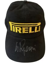 Clay Regazzoni F1 Legend Ferrari Hat hand signed Cap Original autograph