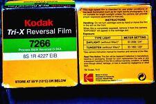 Kodak Tri-X Super 8 Film -7266 - 50ft x 3