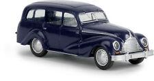 """Emw 340, """" FAMILIARE """" blu zaffiro, H0 modello auto 1:87, BREKINA 27351"""
