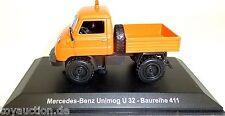 Unimog U32 Serie 411MB Naranja 1:43 atlas 7488001 Nuevo Emb. Orig. #HA2 Μ