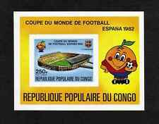 Congo 1980 Football World Cup (1982) imperforate miniature sheet (SG MS731) MNH