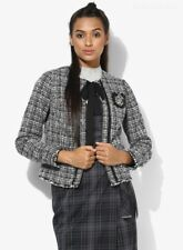 Sample Tweed Bouclé Smart Blazer Jacket UK 6 (XS)