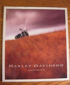 1994 Harley-Davidson Full Line Sales Brochure, HUGE, Sportster Electra Glide