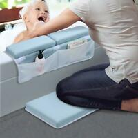 Baby Bath Kneeler Bathtub Kneeling Pad Safety Elbow Rest Waterproof Bath Mat