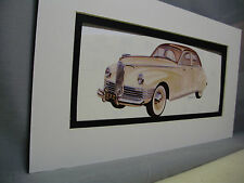 1941 Packard Clipper     Artist Auto Museum Full color Illustrated not photo