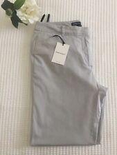 SPORTSCRAFT Luxe Tailored Stretch Cotton Slim Leg Pant Pale Grey 10 $149.99