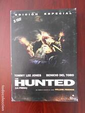 DVD THE HUNTED (LA PRESA) - ED. ESPECIAL 2 DVD - INCLUYE LIBRETO Y POSTALES (5K)