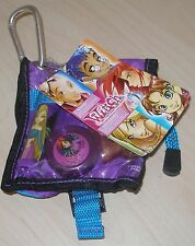 NEW VERY RARE DISNEY STORE W.I.T.C.H. GIRLS MAKEUP KIT POUCH 4 PCS.