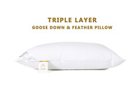 Hotel Pillows Premium Hotel Quality Duck Goose Down Feather Luxury Unique Pillow