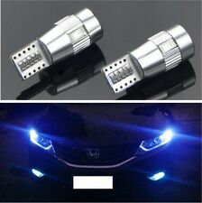 2x T10 5630 Blue LED Canbus for VW Golf 5 6 Passat 3C CC B7 Tiguan BMW Benz AUDI