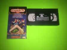Captain N The Game Master Gameboy VHS Nintendo Tape RARE COMPLETE