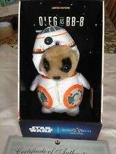Oleg as BB-8 plush toy from Compare the Meerkat  boxed with tags