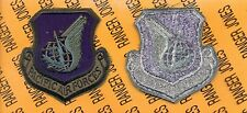 USAF Pacific Air Forces PAF OD Green & Black pocket patch