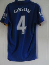 Everton 2011-2012 Gibson 4 Home Football Shirt Size Small  /38002