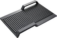 Piastra grill bistecchiera ghisa induzione per FlexInduct Bosch Sieme HZ390522